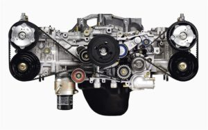 2.5-liter Turbocharged Boxer Engine