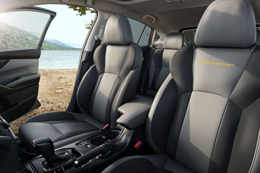 2021 Subaru Crosstrek Seats